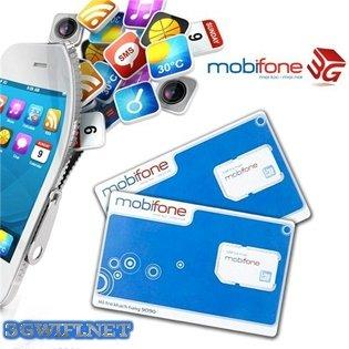 Cách kích hoạt Sim 3G Mobifone