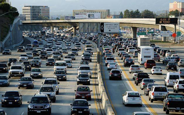 Sự phân luồng giao thông của xe hơi ở Canada