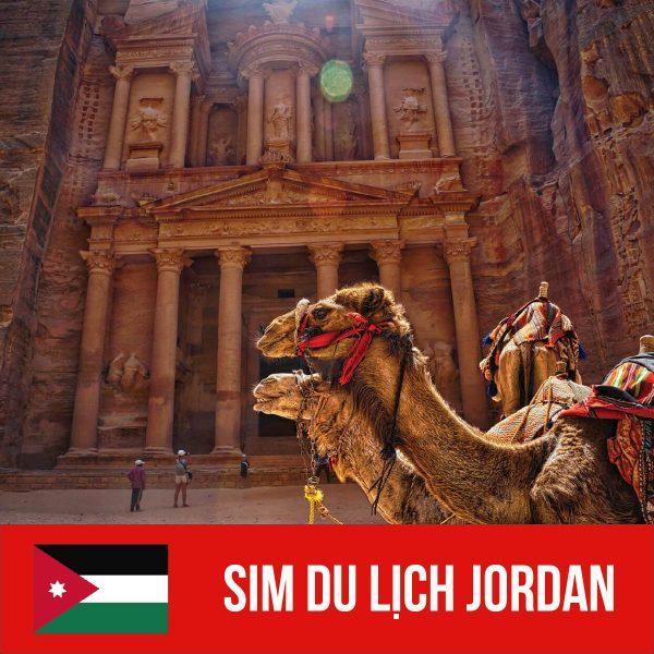 Sim Jordan - Sim 3G/4G Du Lịch Jordan